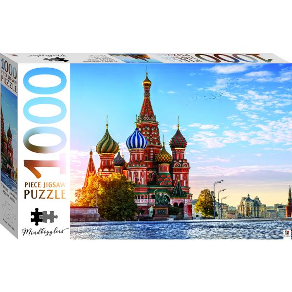 Mindbogglers St Basil's Cathedal Moscow Russia 1000pce Puzzle