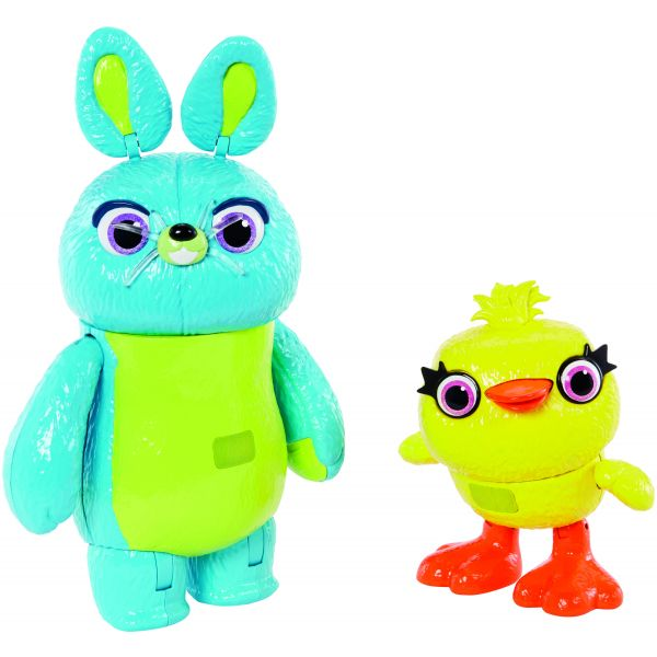 """TOY STORY 4 7"""" FURRY & FEATHERS INTERACTIVE 2-PACK"""